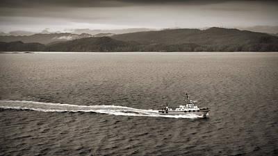 B.c. Coast Pilot Boat Print by Andreas Weidemann