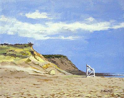 Chatham Harbor Painting - Coast Guard Beach Eastham Cape Cod Massachusetts by Christine Hopkins