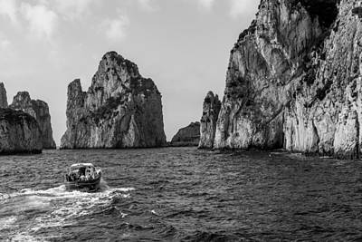 Photograph - Coast Of Capri By Water by John Pike