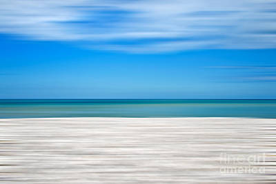 Coastal Horizon 10 Print by Delphimages Photo Creations