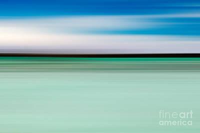Coastal Horizon 5 Print by Delphimages Photo Creations