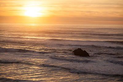 Coastal Rhythm Print by Mike Reid