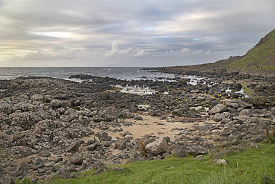 Ireland Photograph - Coastal Stone Giant's Causeway -- Ireland by Betsy C Knapp
