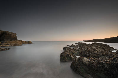 Coastal Twilight Seascape Print by Andy Astbury