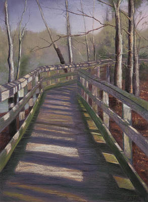 Coastal Painting - Coastal Walkway by Christopher Reid
