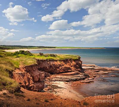 Soil Photograph - Coastline At East Point  by Elena Elisseeva