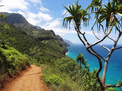 Paradise Road Photograph - Coastline Of Kauai  by Mountain Dreams