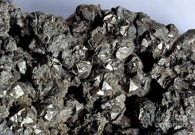 Cobaltine Mineral Print by Spl