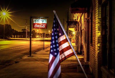 Coca-cola Sign Photograph - Coca-cola And America by David Morefield