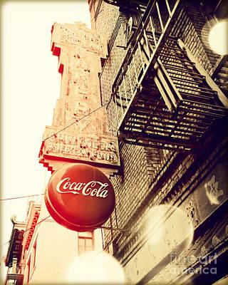 San Francisco Cali Photograph - Coca Cola by Chris Andruskiewicz