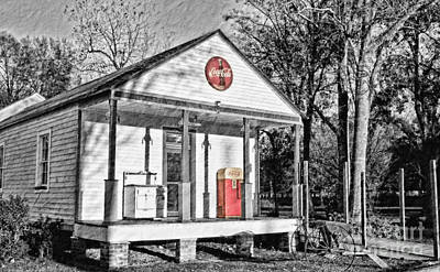 Coca Cola In The Country Print by Scott Pellegrin