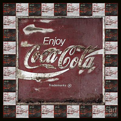 Coca-cola Sign Photograph - Coca Cola Signs by John Stephens