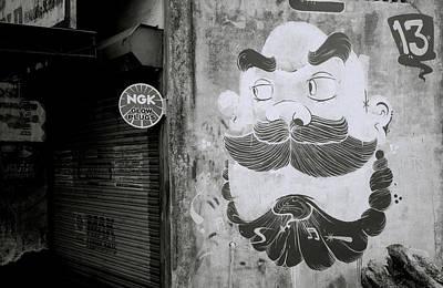 India Photograph - Cochin Cartoon by Shaun Higson