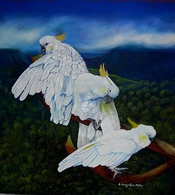 Cockatoo Lookout Original by Sandra Sengstock-Miller