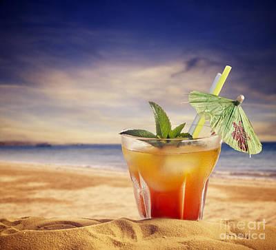 Cocktail  Print by Jelena Jovanovic