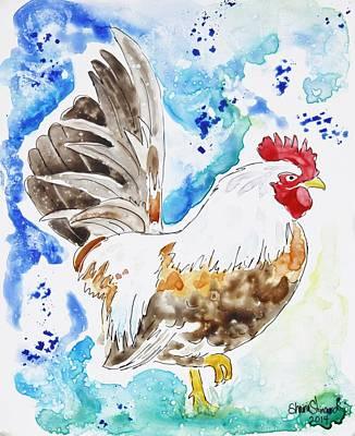Cocky Print by Shaina Stinard