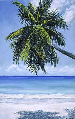 Haleiwa Painting - Coco Palm by Stacy Vosberg