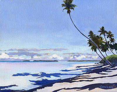 Haleiwa Painting - Coconut Shadows by Stacy Vosberg