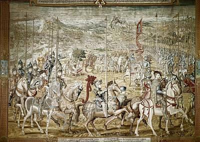 Tapestries Textiles Photograph - Coecke Van Aelst, Pieter  1502-1550 by Everett