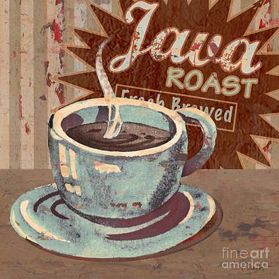 Painting - Cofee Brew Sign IIi by Paul Brent