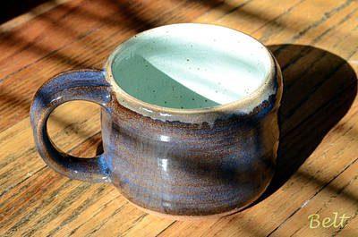 American Pottery Ceramic Art - Coffee Connoisseur No.2 by Christine Belt