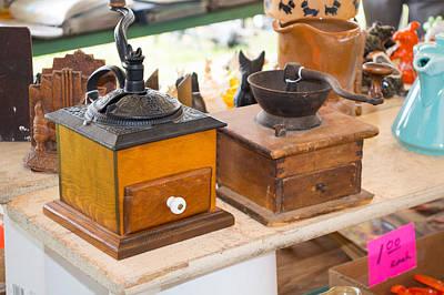 Warrenton Antique Days Coffee Grinders Original by JG Thompson