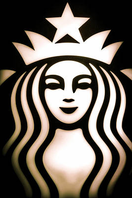 Coffee Queen Print by Spencer McDonald