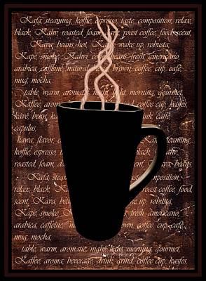 Coffee Time Print by Barbara St Jean