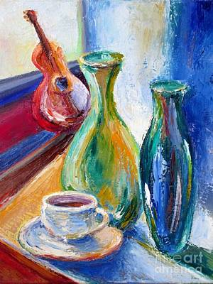 Coffee Vases  Print by Frederick  Luff