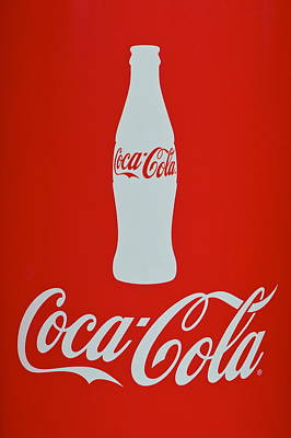 7up Sign Photograph - Coke Adds Life by Frozen in Time Fine Art Photography