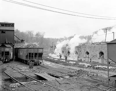 Hal Photograph - Coke Ovens by Library Of Congress