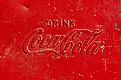 Coca-cola Sign Photograph - Coke Sign by Jill Reger