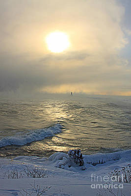 Cold In Marquette Print by Jamie Rabold