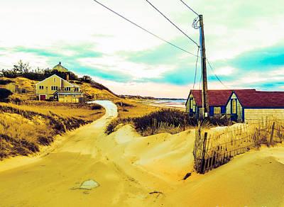 Cold Storage Beach / Truro, Cape Cod, Ma.  Print by Jeremy Drew Morgan