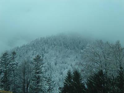 Cold Winter Romania Print by Andreea Alecu