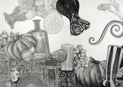 Collage Print by CA Zajicek