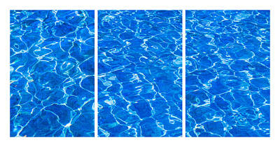 Water Play Photograph - Collage Fresh Water by Alexander Senin