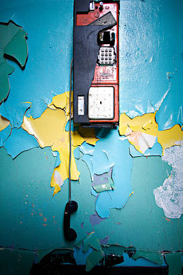 Abandoned Photograph - Collect Call by Lisa Walsh