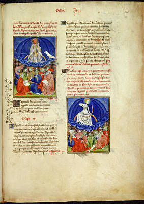 Gods And Goddesses Photograph - Collected Works Of Christine De Pisan by British Library