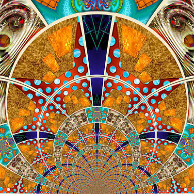 Collective Digital Art - Collective 01 Of 26 by Wendy J St Christopher