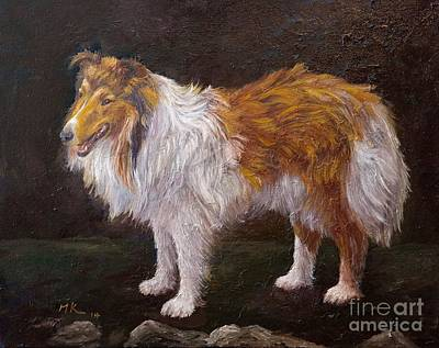 Collie  Original by Francesca Kee