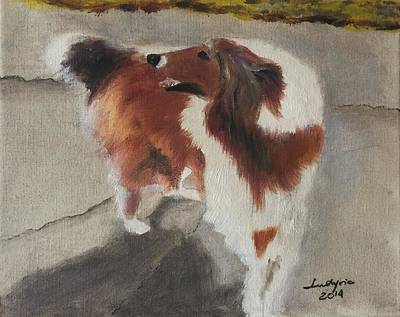 Collie Original by Ryszard Ludynia