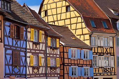 Colmar Alsace Print by Brian Jannsen
