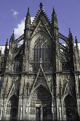 Three Little Kittens Designs Photograph - Cologne Cathedral 01 by Teresa Mucha