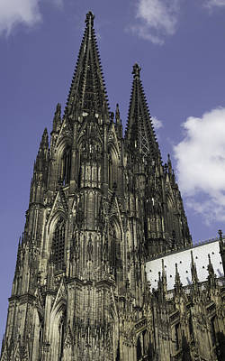 Relief Art Photograph - Cologne Cathedral 06 by Teresa Mucha