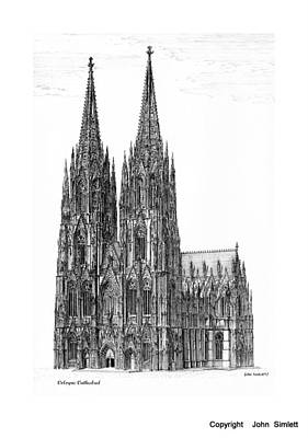Cologne Cathedral Original by John Simlett