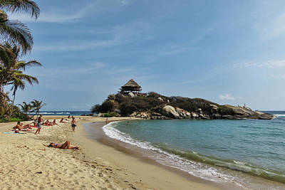 Colombia Photograph - Colombia, Tayrona National Park, Cabo by Matt Freedman