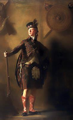 Musket Painting - Colonel Macdonnel Of Glengarry by Mountain Dreams