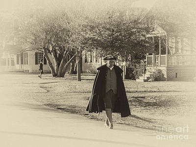 Colonial Man Photograph - Colonial Gentleman II by Terry Rowe