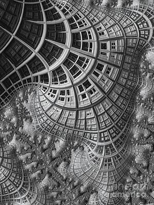 Lunar Digital Art - Colony II by John Edwards